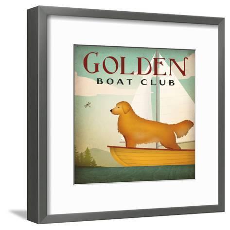 Golden Boat Club-Wild Apple Portfolio-Framed Art Print