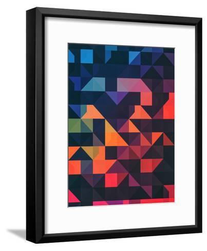 Flyt Nyce-Spires-Framed Art Print