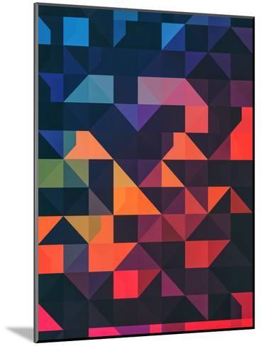 Flyt Nyce-Spires-Mounted Art Print