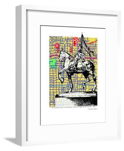 Joan-Of-Arc Portland--Framed Art Print