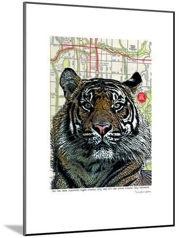 Kansas City Tiger--Mounted Art Print