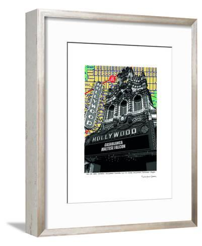 Hollywood Theatre Portland--Framed Art Print