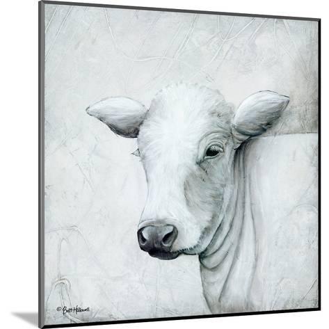 January Cow II-Britt Hallowell-Mounted Art Print