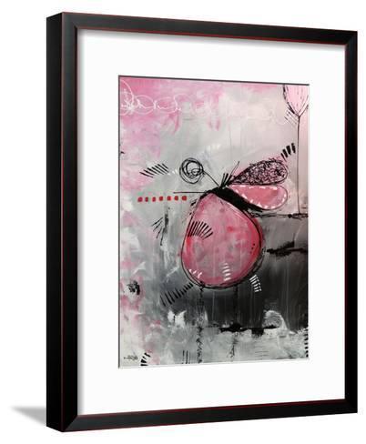 Motus Aux Fraises-Annie Rodrigue-Framed Art Print