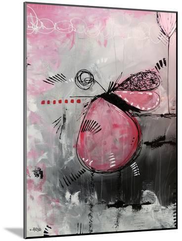 Motus Aux Fraises-Annie Rodrigue-Mounted Art Print