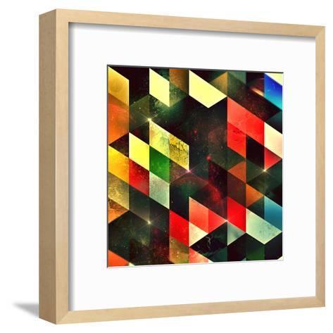 Lyyv Cylyr-Spires-Framed Art Print