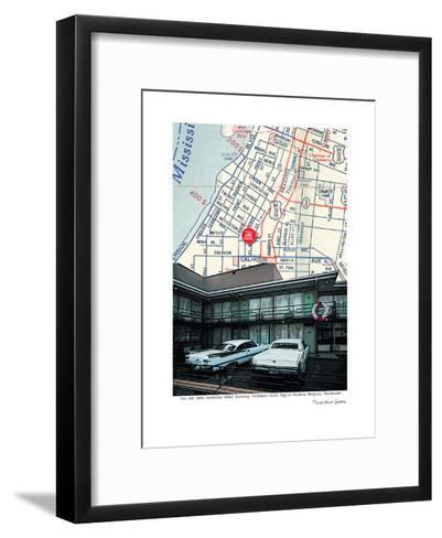 Lorraine Motel Balcony--Framed Art Print