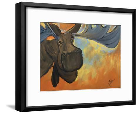Moose-Terri Einer-Framed Art Print