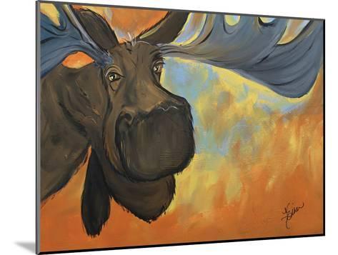 Moose-Terri Einer-Mounted Art Print