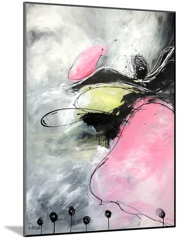 Motus Et Bouche Cousue-Annie Rodrigue-Mounted Art Print