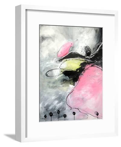 Motus Et Bouche Cousue-Annie Rodrigue-Framed Art Print