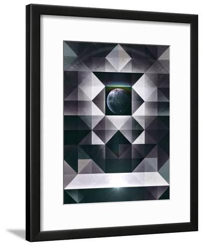 Myrryr Mwwns-Spires-Framed Art Print