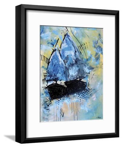 Navy 2832-Annie Rodrigue-Framed Art Print
