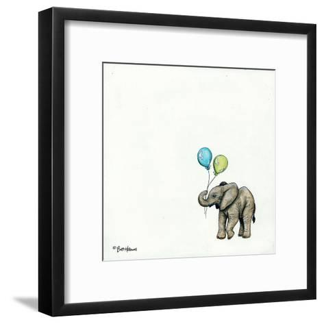 Nursery Elephant-Britt Hallowell-Framed Art Print