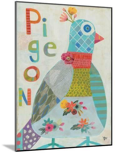 Pigeon-Julie Beyer-Mounted Art Print