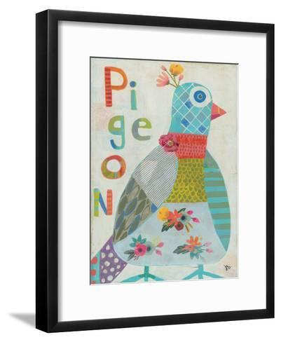 Pigeon-Julie Beyer-Framed Art Print