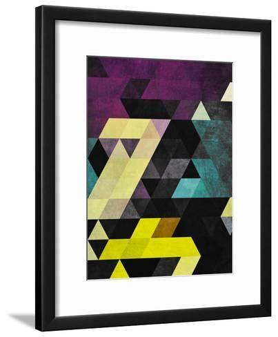 Scrytch Tyst-Spires-Framed Art Print