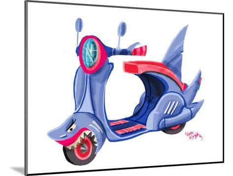 SharkMoped CaraKozik-Cara Kozik-Mounted Art Print