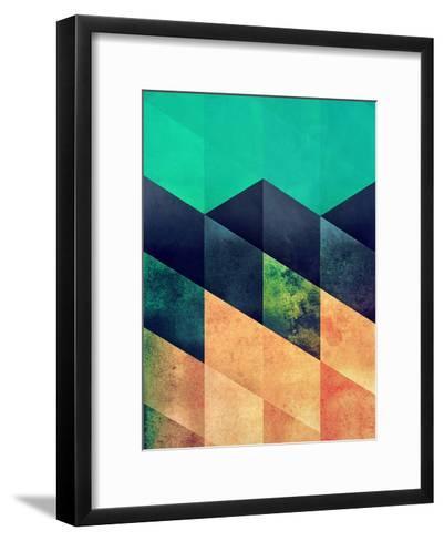 Styp 2-Spires-Framed Art Print
