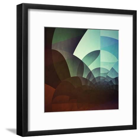 Spyyryl Yyt-Spires-Framed Art Print