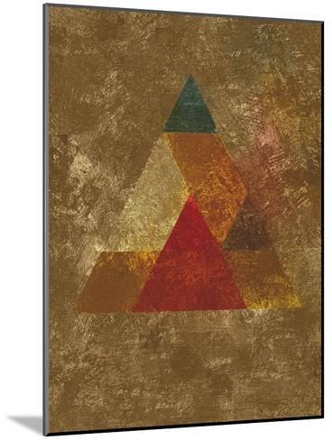 Try 5-Spires-Mounted Art Print
