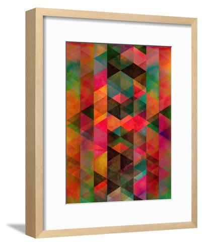 Symmyr Bryyzz-Spires-Framed Art Print