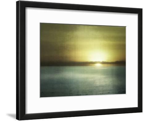 Sunset In Malibu-Golie Miamee-Framed Art Print