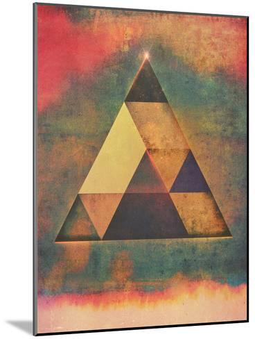 Try 9-Spires-Mounted Art Print