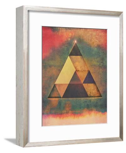Try 9-Spires-Framed Art Print