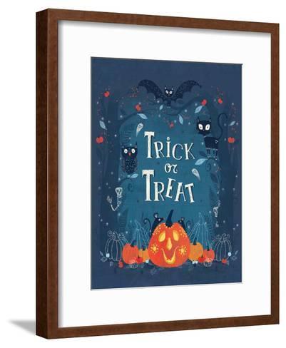Trick or Treat-Advocate Art-Framed Art Print
