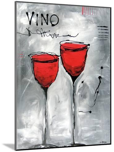 Vino 2-Annie Rodrigue-Mounted Art Print