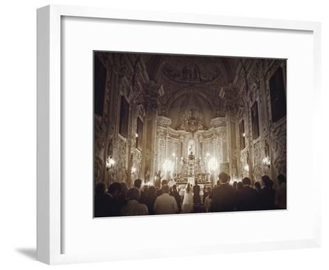 Wedding In Sicily-Golie Miamee-Framed Art Print