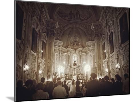 Wedding In Sicily-Golie Miamee-Mounted Art Print