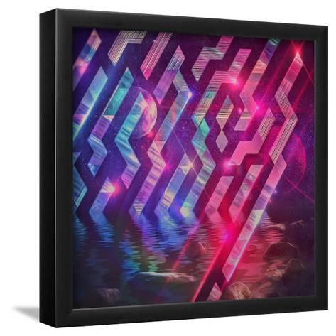 Xrystyl Nyytx-Spires-Framed Art Print