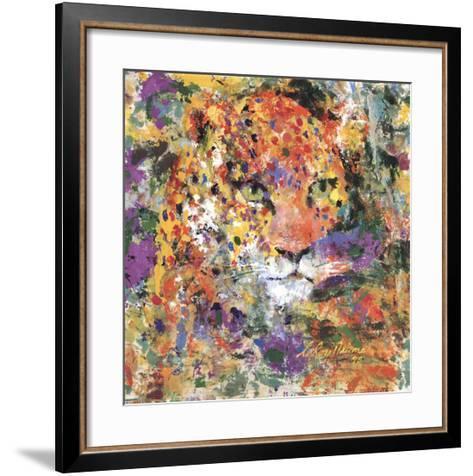 Leopard-LeRoy Neiman-Framed Art Print