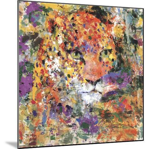 Leopard-LeRoy Neiman-Mounted Art Print
