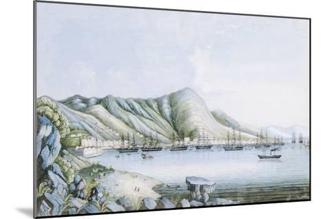 Hong Kong View-Oriental School-Mounted Premium Giclee Print
