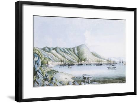 Hong Kong View-Oriental School-Framed Art Print