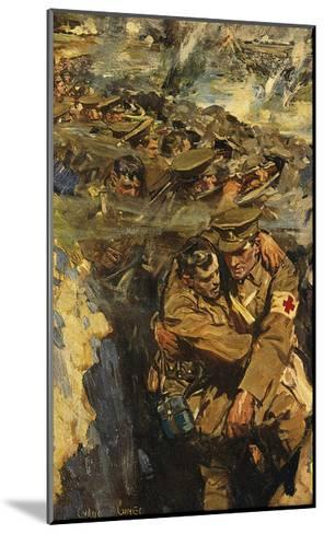The Red Cross in the Trenches-Cyrus Cincinnati Cuneo-Mounted Premium Giclee Print