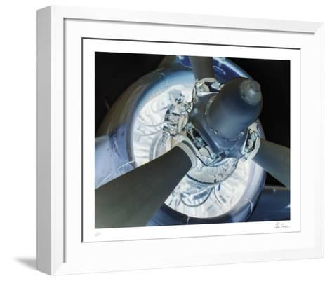Vintage Propellor II-Chris Dunker-Framed Art Print