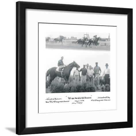 At the Races I-The Chelsea Collection-Framed Art Print
