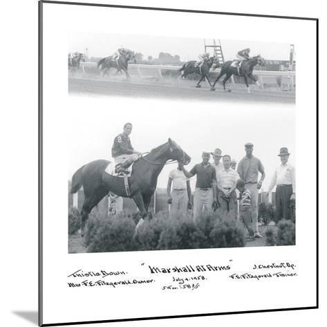 At the Races I-The Chelsea Collection-Mounted Giclee Print