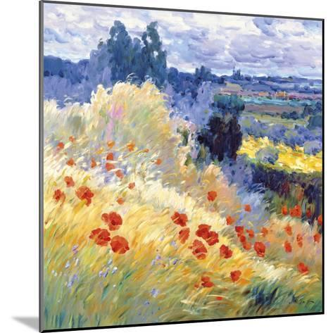 Landscape I-Malva-Mounted Giclee Print