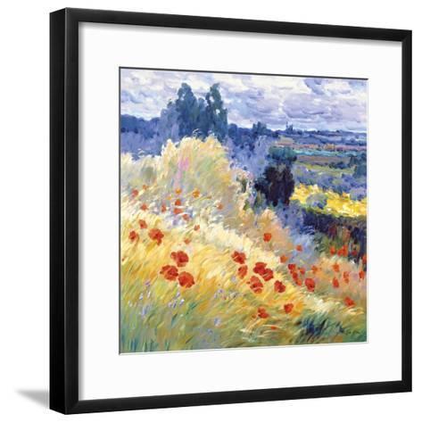 Landscape I-Malva-Framed Art Print