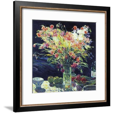Still Life with Fruits-Malva-Framed Art Print