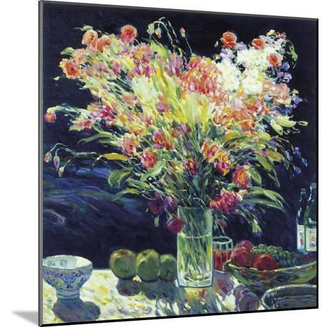 Still Life with Fruits-Malva-Mounted Giclee Print