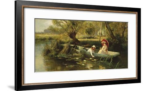 On The Thames-Ernest C^ Walbourn-Framed Art Print