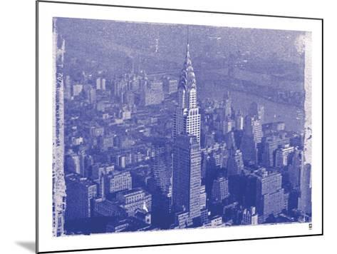 New York City In Winter IV In Colour-British Pathe-Mounted Giclee Print