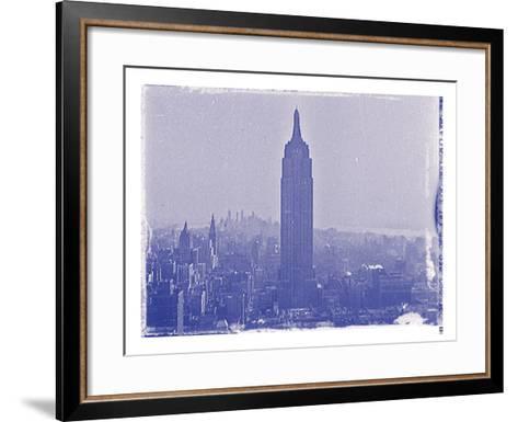 New York City In Winter VII In Colour-British Pathe-Framed Art Print