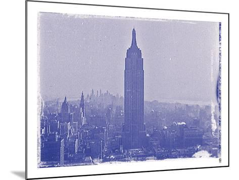 New York City In Winter VII In Colour-British Pathe-Mounted Giclee Print